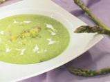 Супа от аспержи, спанак и заливка с п...