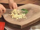 Супа от аспержи, спанак и заливка с пармезан