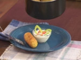 Картофени крокети със сирене 9