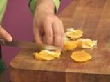 Риба тон с портокали