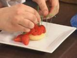 Торта с извара и ягоди 10