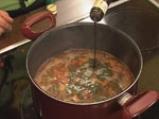 Супа от леща с макарони 9
