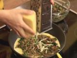 Омлет със спанак, леща и бекон 9