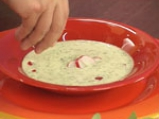 Супа от репички с рукула 9
