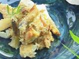 Бяла риба с аспержи и сос от пармезан