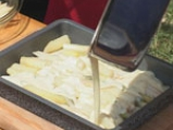 Бяла риба с аспержи и сос от пармезан 7