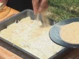 Бяла риба с аспержи и сос от пармезан 8