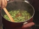 Супа от фасул с бадеми 3