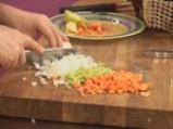 Пиле с ориз и дробчета 2