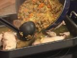 Пиле с ориз и дробчета 5