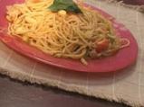 Спагети с тиквички и пиле