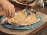 Пъстърва със синьо сирене 6