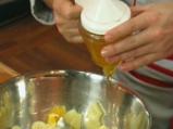 Цитрусова салата с джинджифилов мус 7