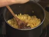 Крем брюле с малини и ябълки 2