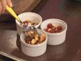Крем брюле с малини и ябълки 8