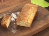 Хлебен кекс с шунка и маслини 7
