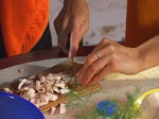 Гъбена салата с майонеза