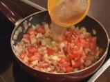 Студена супа от зрял фасул с бекон 4