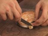 Торнедо от сьомга със сметаново-лучен сос и бекон 7