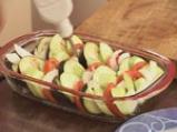 Зеленчукова запеканка със сирене 3