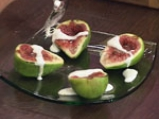 Карамелизирани смокини с лимоново мляко 4
