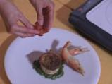 Сформатино - тимбал от тиквичка с песто от рукула 6