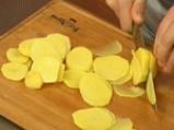 Картофен гювеч с праз 4
