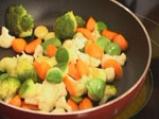 Пангасиус със спанак и зеленчуци на пара 5