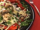 Есенна салата с чушки и карфиол
