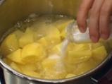 Картофен пай със спанак