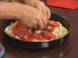 Пица с карфиол и шпеков салам 9