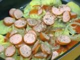 Картофена лазаня с кренвирши 2