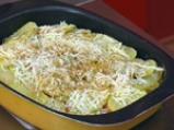 Картофена лазаня с кренвирши 3