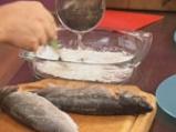 Лаврак със зеленчуци в сладко-кисел сос 3