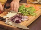 Лаврак със зеленчуци в сладко-кисел сос 5