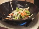Лаврак със зеленчуци в сладко-кисел сос 6
