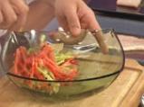 Пангасиус с мариновани чушки и пюре от аспержи  3