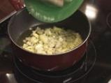 Кускус с патладжан и сушени домати 4