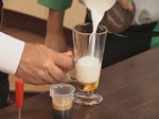 Лате макиато (изцапване на млякото) 2