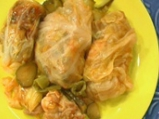 Пилешки сарми с кисело зеле