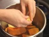 Супа от тиква със зрял фасул 2