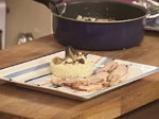 Печено свинско за Йордановден с ориз и горски гъби 10