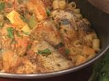 Рибна яхния с макарони по португалски