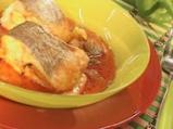 Червено рибно къри