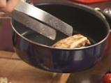 Пилешко руло с бекон и рагу от чери домати 3