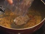 Пилешки хапки с къри сос 5