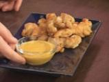 Пилешки хапки с къри сос 10