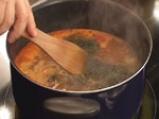 Супа топчета със спанак 9