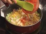 Пилешка яхния с царевични хрупки 8