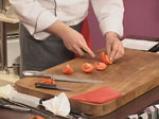 Салата от спанак и домат конфи 2